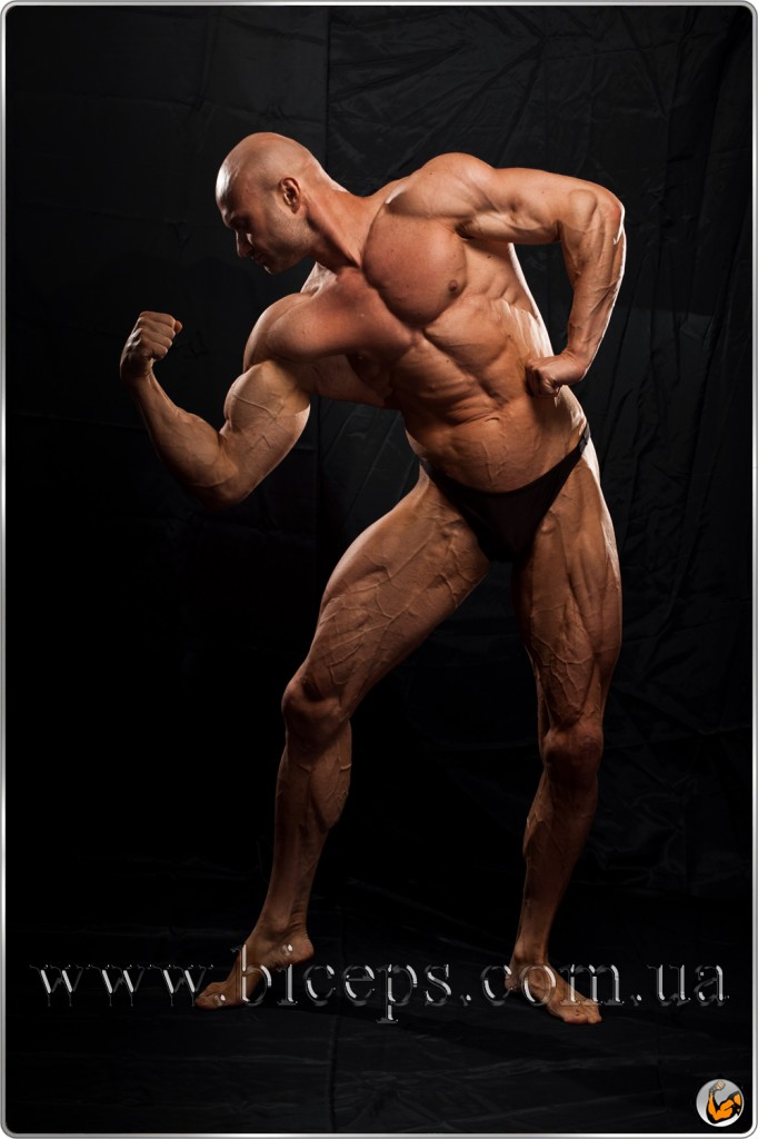 Bodybuilding in pairs World Champ and personal trainer Yury Spasokukotsky